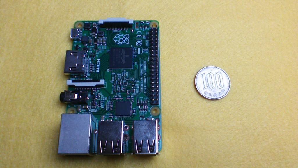 図1.Raspberry Pi 2 Model B+
