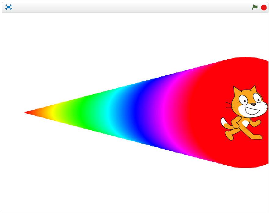 200色から200色+太さ200種類実行例
