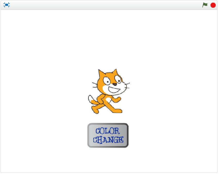 猫のスプライトの色を変えるプロジェクト